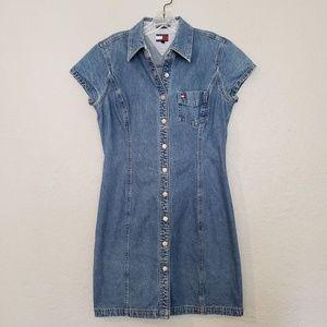 Vintage Tommy Hilfiger Denim Dress